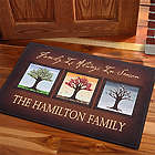 Personalized The Seasons Family Doormat