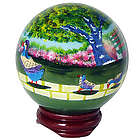 Hand-Painted Boston Duckling Globe