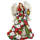 Blessings of the Christmas Season Musical Angel Figurine