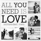 Personalized Love Photo Collage Canvas