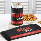 Man Cave Personalized Beverage Huggie