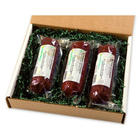 Elk and Buffalo Summer Sausage Gift Box
