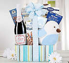 It's a Boy! Champagne Collection Gift Basket