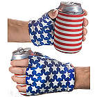 USA Beer Mitt Koozie