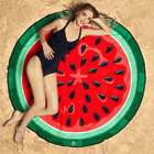 Watermelon Slice Round Beach Blanket