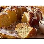 Christmas Eggnog Crown Cake