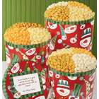 Popcorn Snowman Popcorn Tin