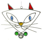 Pretty Kitty Sun Catcher