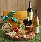 Father's Day Sausage and Cheese Box with 2 Wines