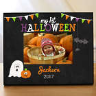 Personalized My First Halloween Photo Frame