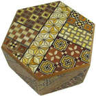 Hexagon Japanese Puzzle Box