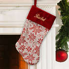 Personalized Festive Classic Christmas Stocking