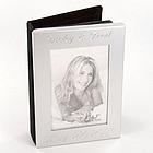 Personalized Mini Silver Photo Album