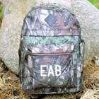 Embroidered Camo Computer Backpack