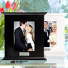 Engraved Photo Card Holder Box