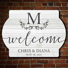 Personalized Afternoon Shower Wooden Wedding Sign