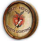 Personalized White Lightning Quarter Barrel Sign