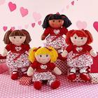 Personalized Sweet Valentine Rag Doll