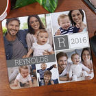 Personalized Family Photo Collage Mouse Pad