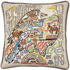 Embroidered Grand Canyon National Park Pillow