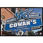 Kentucky Wildcats Personalized College Football Canvas Sign