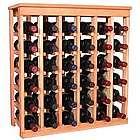 Wooden 36 Bottle Kitchen Wine Rack