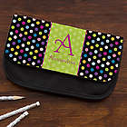 Polka Dots for Her Personalized Pencil Case