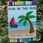 Personalized Summer Fun Garden Flag