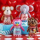 Personalized Lovey Buddy Valentine Treat Jar