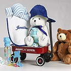 Baby Boy Welcome Wagon Gift Basket