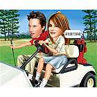 Golf Cart Cruising Caricature Art Print