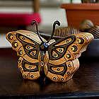 Atitlan Butterfly Mahogany Puzzle Box