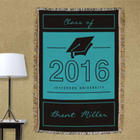 Graduation Personalized Throw Blanket