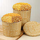 Popcorn Lovers 3-1/2 Gallon Tin