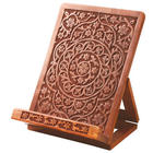 Hand-Carved Rosewood Tablet Holder