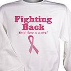 Fighting Back Breast Cancer Awareness Sweatshirt