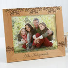 Damask Design 8x10 Personalized Family Picture Frame