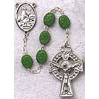 Green Shamrock Rosary