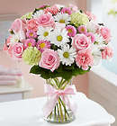 Sweet Baby Girl Large Floral Arrangement