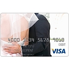 Bride and Groom Visa Gift Card