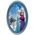 Disney Frozen Masterpiece Framed Collector Plate