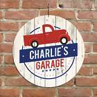 Personalized Truck Garage Wall Sign