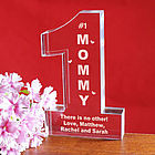 Personalized # 1 Mom Keepsake