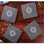 Oxford Personalized Slate Coasters