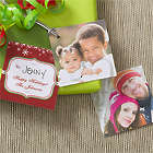 Custom Photo Happy Holidays Gift Tags