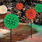 Starlight Sphere Christmas Pathway Marker