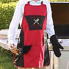 Grill Master© Ultimate 4 Piece Apron Set
