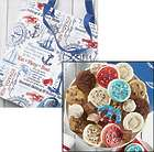 Wordle Nautical Canvas Tote Bag with Cookies and Treat Gift Bag