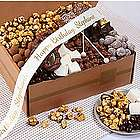 Chocolate Bliss Snack Box with Personalized Ribbon