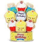 Happy Birthday Surprises 9 Piece Cookie Bouquet